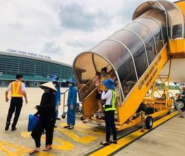 Sân bay Thọ Xuân khắc phục hàng rào sau vụ chó vào đường băng