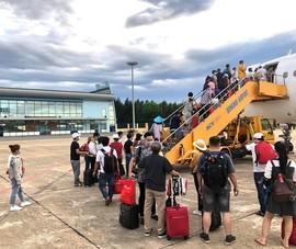 Sân bay Đồng Hới có vị trí đỗ trực thăng