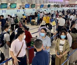 1,5 triệu khách đi lại bằng đường hàng không dịp lễ 30-4