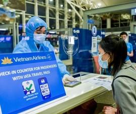 Chuyến bay đầu tiên từ Việt Nam đi Nhật bằng hộ chiếu sức khỏe
