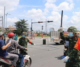 2.000 cán bộ, chiến sĩ Sư đoàn 5 về giúp dân phòng chống dịch