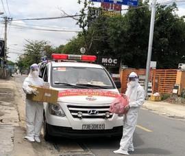 2 cha con chạy xe cứu thương liên tỉnh rút về Quảng Bình chống dịch