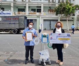 Doanh nghiệp châu Âu ủng hộ 150.000 USD mua thiết bị y tế chống dịch