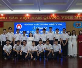 181 học sinh TP.HCM xuất quân thi học sinh giỏi Quốc gia 2020