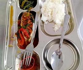 Gián xuất hiện trong bữa ăn: Sở GD&ĐT chỉ đạo giải quyết