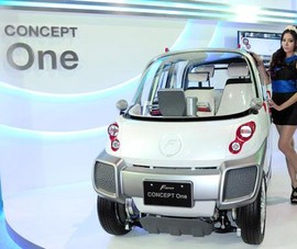 Ô tô điện có khả năng bơi lội sắp được bán tại Việt Nam