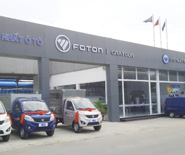 Foton Motors sẽ khai trương Showroom đầu tiên tại TP.HCM