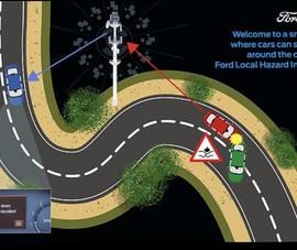 Xe hơi tự nhận biết khu vực tai nạn, kẹt xe