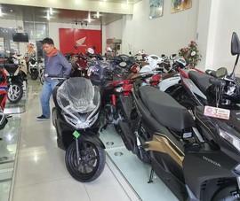 Xe máy Honda tiếp tục bị giảm doanh số bán hàng
