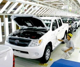 Sự gián đoạn chuỗi cung ứng từ các nước ASEAN ảnh hưởng đến việc sản xuất ô tô