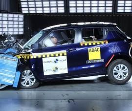 Suzuki Swift chỉ đạt 0 điểm trong bài kiểm tra va chạm của Latin NCAP