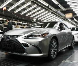 Toyota Motor bất ngờ ngưng hoạt động 14 nhà máy