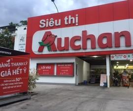 Auchan tung đợt giảm giá khủng trước khi tạm biệt Việt Nam