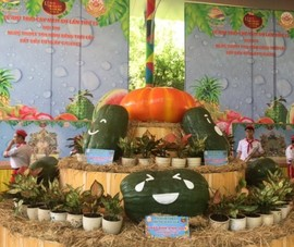 Chiêm ngưỡng các loại củ, quả độc lạ tại Suối Tiên