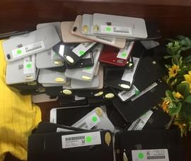 Phát hiện lô hàng iPhone lậu trị giá 3 tỉ đồng
