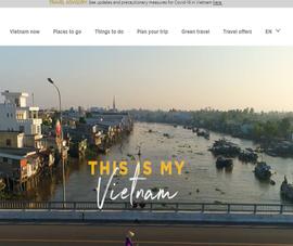 Website du lịch Việt Nam sắp về lại Tổng Cục Du lịch