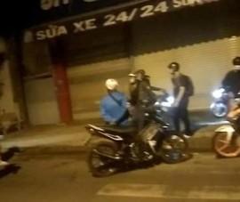 Bắt nhóm giả Cảnh sát hình sự xịt hơi cay, ép xe người dân