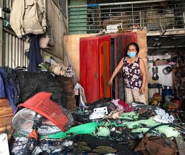 TP.HCM: 16 phòng trọ bị lửa thiêu rụi tại quận 9