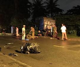 2 xe máy tông trực diện ở quận 9 làm 2 người thương vong