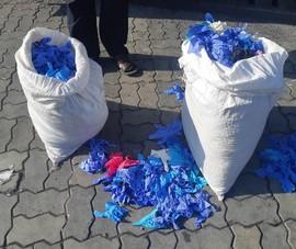 Điều tra lô găng tay Trung Quốc đã sử dụng nhập cảng Cát Lái