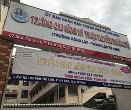 Kiểm điểm hiệu trưởng Trường Nguyễn Trường Tộ về chống lãng phí