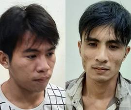 Người dân vây bắt 2 kẻ cướp giật điện thoại ở Thủ Đức