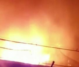 75 xe máy bị cháy tại Công an TP Thủ Đức do chập điện