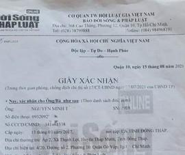 Công an Củ Chi khởi tố nhóm người giả giấy xác nhận báo chí, giả giấy đi đường