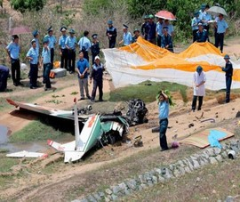 Đề xuất thăng quân hàm 2 phi công hy sinh do rơi máy bay