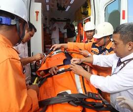 Tàu SAR27 cứu thuyền viên tàu Hy Lạp xuất huyết não trên biển