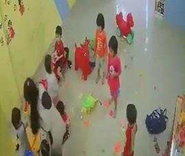 Đình chỉ hoạt động cơ sở giữ trẻ đánh trẻ ở Nha Trang