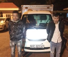 2 thanh niên lái ô tô đi lừa đảo liên tỉnh hàng chục vụ