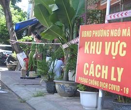 Phong tỏa 5 phường ở Quy Nhơn do xuất hiện xuất hiện ổ dịch lớn