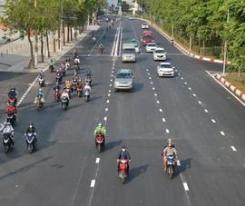 Chính thức thông xe đường Nguyễn Hữu Cảnh