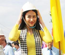 Hoa hậu Phương Khánh hưởng ứng trồng 10 triệu cây xanh