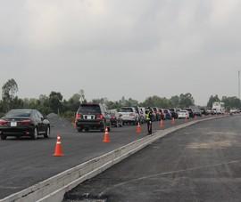 Cao tốc Trung Lương - Mỹ Thuận cấm phương tiện đi vào ban đêm