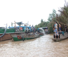 Thanh tra Chính phủ: Có tiêu cực trong khai thác cát ở Bến Tre