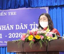 Bến Tre lần đầu tiên có nữ Chủ tịch HĐND tỉnh
