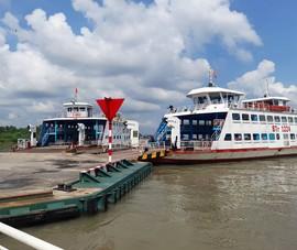 Bến Tre: Tạm ngưng hoạt động bến phà tạm Rạch Miễu, phà Tân Phú