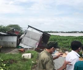 Người dân bị thiệt hại trong vụ sạt lở cồn Phú Đa, Bến Tre sẽ được hỗ trợ