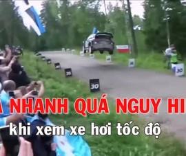 Nguy hiểm chết người khi xem đua ô tô địa hình