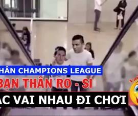 Dừng chân Champions League Ronaldo, Messi rủ nhau chơi game