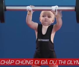 Mới chập chững biết đi đã thi đấu Olympic