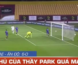 Video UAE thắng đậm Ấn Độ 6-0, cảnh báo đội đầu bảng VN