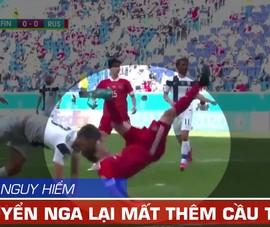 Video cú ngã nguy hiểm khiến cầu thủ nghỉ đến hết Euro