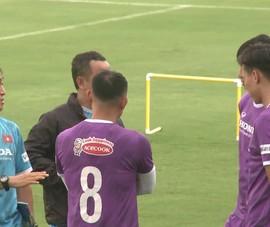 Tiến Linh và các cầu thủ Viettel đã có mặt tập cùng đội tuyển