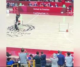Độc đáo đưa robot vào ném rổ tại Olympic Tokyo