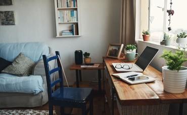 Người ít gắn bó công việc sẽ thấy thoải mái khi làm việc ở nhà