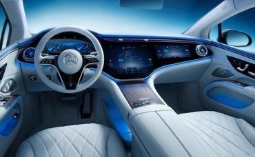 Xuất hiện xe điện có màn hình lên đến 56 inch