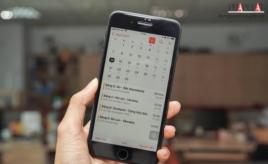 Cách thêm lịch thi đấu Euro 2021 lên iPhone